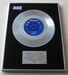 HARRY SECOMBE - IF I RULED THE WORLD PLATINUM Single Presentation Disc